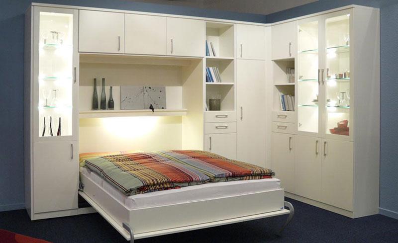 Apartmentmöbel Bettschrank | schrankbett-planer.de