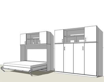 wandklappbett jetzt planen schrankbett. Black Bedroom Furniture Sets. Home Design Ideas