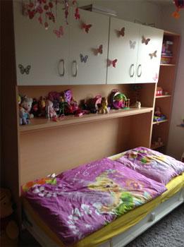Referenzen bewertungen schrankbett for Kinderzimmer querklappbett