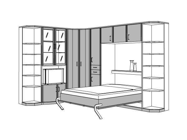 Kostenloser 3d service schrankbett for Kostenloser 3d planer