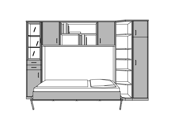kostenloser 3d service schrankbett. Black Bedroom Furniture Sets. Home Design Ideas
