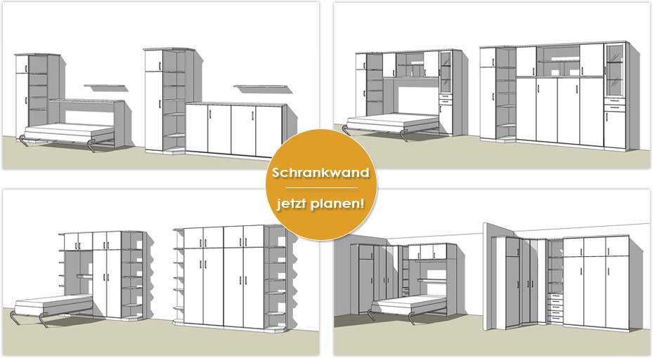 Wohnraumgestaltung mit Plan | schrankbett-planer.de